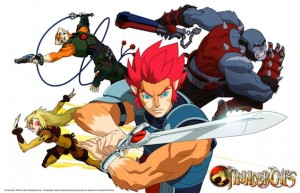 Cast Thundercats on Thundercats Cast Art