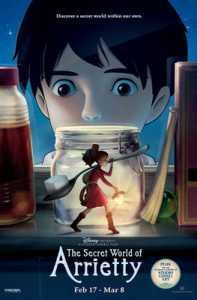 Arrietty Opens Strong In US Theaters