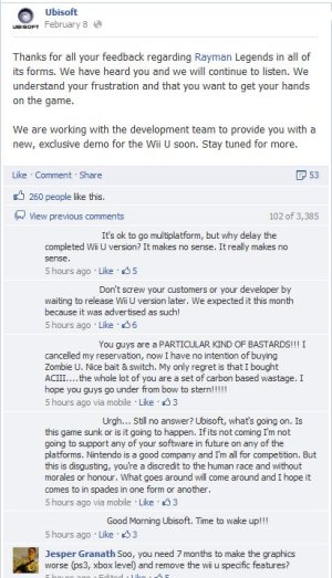 Rayman FB Post Case Study: Rayman and the Long Delay