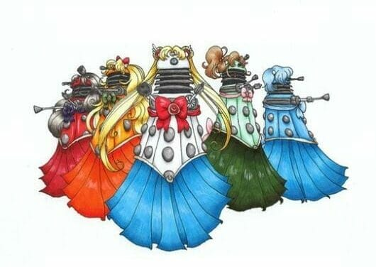 What if Doctor Who were an anime?
