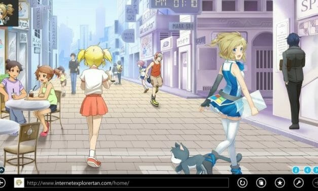 Internet Explorer Gets New Magical Girl Mascot