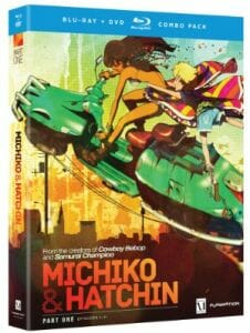 Michiko and Hatchin Boxart