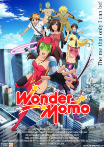 Wonder Momo 001 20140129 212x300 Zombified: Reboot Sees Wonder Momo Get Anime Series
