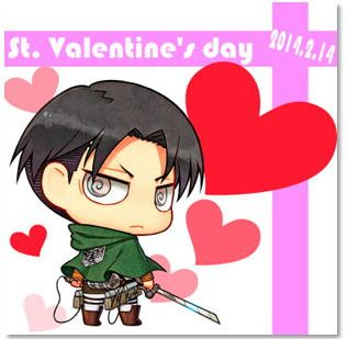 AoT VDay Cakes 002 20140205 Now You Can Eat Levi This Valentines Day! ...Wait