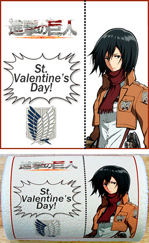 AoT VDay Cakes 003 20140205 Now You Can Eat Levi This Valentines Day! ...Wait