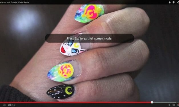 This How-To For Sailor Moon Nails Is Freaking Cool
