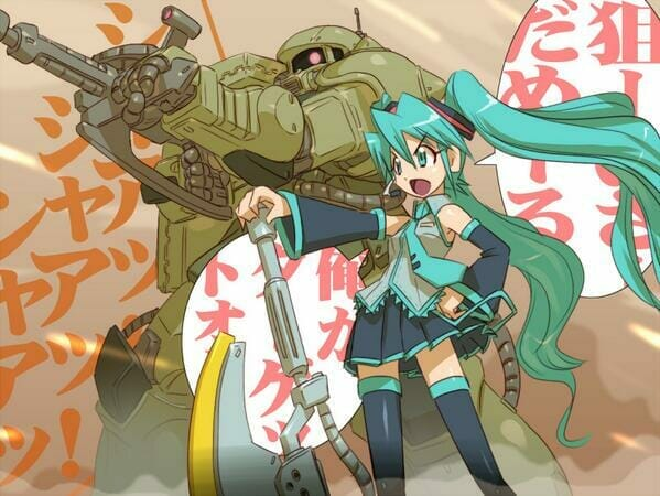 Fans Celebrate Miku Zaku Day With Epic Artwork