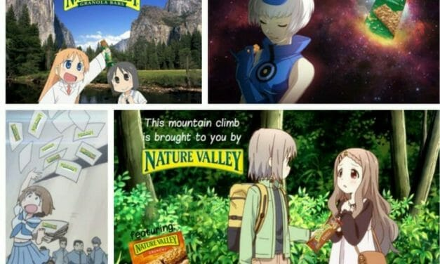 Nature Valley Goes Anime, Fans Go Gaga