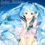 Miku 7th Birthday 016 20140831 150x150 Fans Celebrate Hatsune Mikus 7th Birthday With Amazing Art