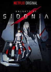 Knights of Sidonia Cover Art