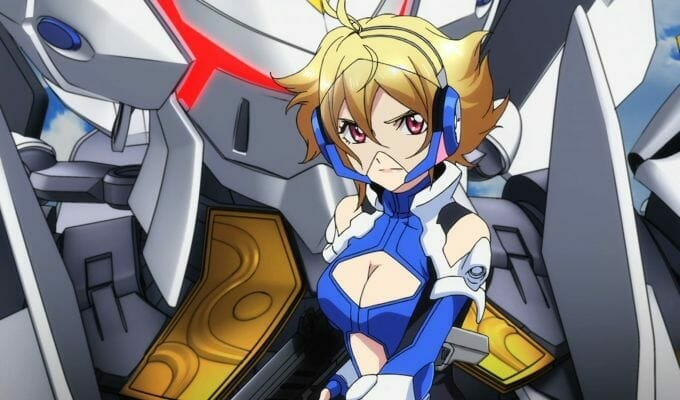 Brittney Karbowski Plays Vivian In Cross Ange Dub