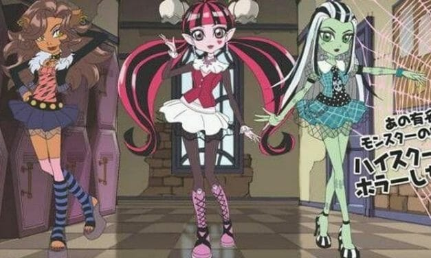 Ghouls Rule! Monster High Anime To Hit Japanese TV
