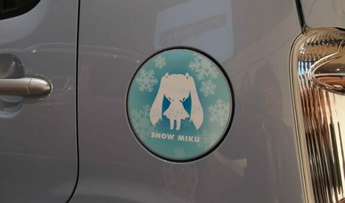 Hatsune Miku Gets Official Cocoa Car Variant From Daihatsu