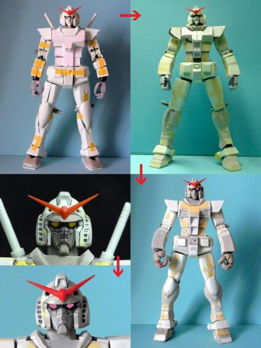 Anime RX-78-2 Gunpla Production 001 - 20141126