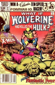 Marvel What If Wolverine Killed the Hulk - 20141103