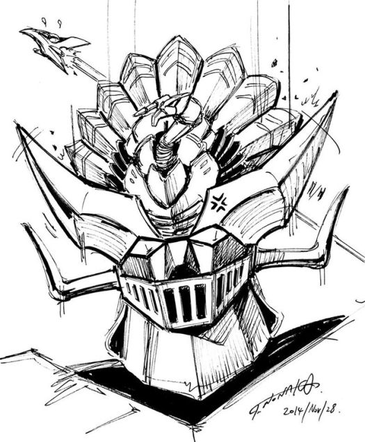 Mazinger Turkey - 20141130