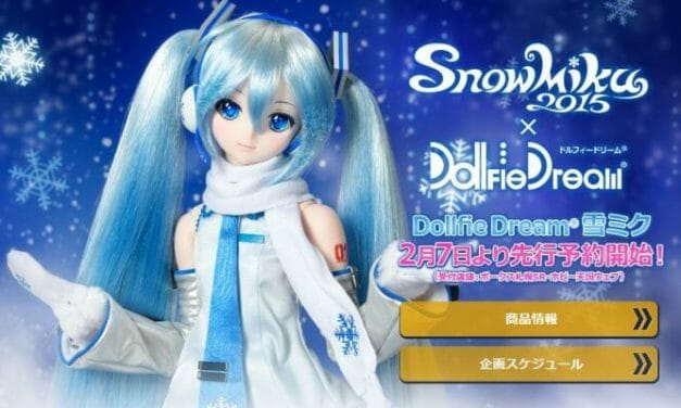 Snow Miku Dollfie Warms Hearts, Crushes Wallets