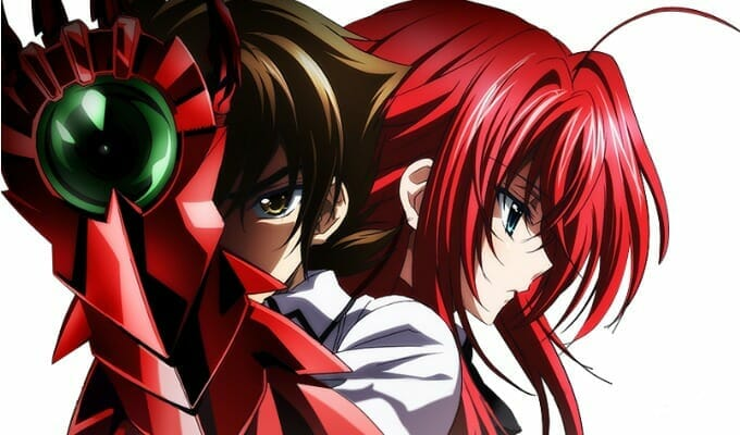 FUNimation Reveals High School DxD BorN Dub Cast