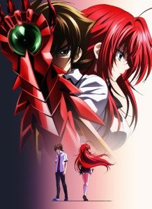 High School DxD Born Key Visual 001 - 20150331