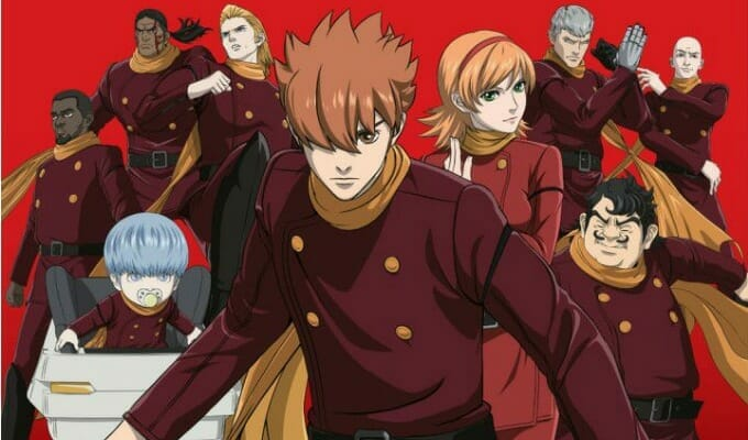FUNimation Announces 009 Re:Cyborg Dub Cast, Release Plans