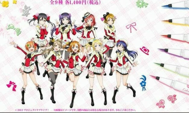Good Smile Rolls Out Love Live! Branded Eyeliner