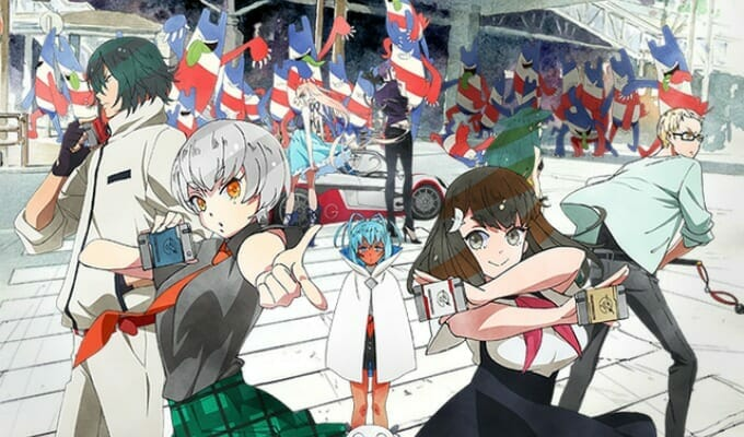 Gatchaman CROWDS Insight Hits Japanese TV July 5, 2015