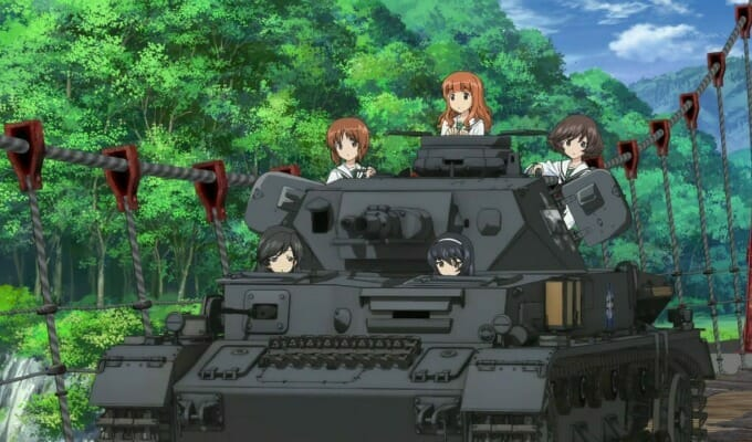 Sentai Unveils Girls und Panzer der Film's Canadian Theatrical Schedule