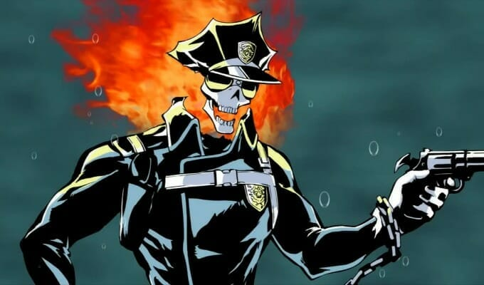 New Inferno Cop Short Screened At AnimeNEXT