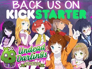 Back Undead Darlings on Kickstarter!