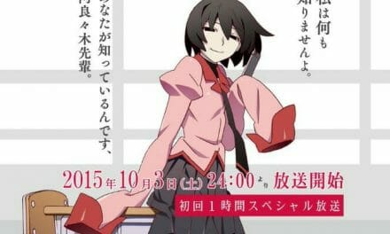 Crunchyroll to Stream Owarimonogatari Anime Series