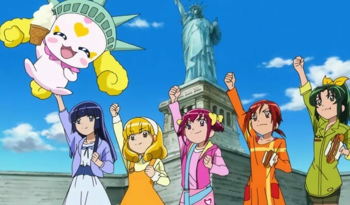 "Saban Solicits Smile PreCure! License As ""Glitter Force"""