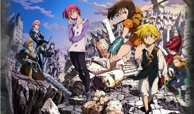 Netflix Starts Streaming The Seven Deadly Sins