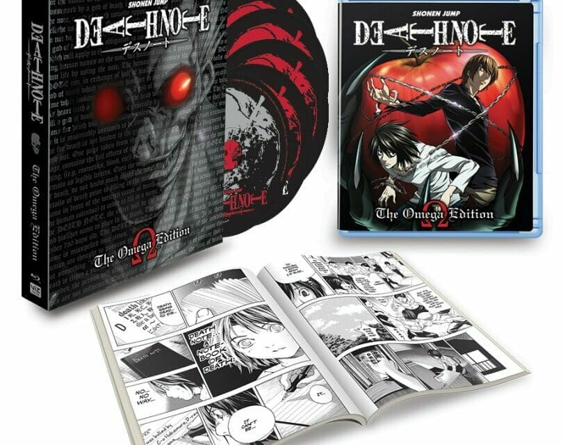 Viz to Release Death Note: Complete Collection Blu-Ray On 3/1/2016
