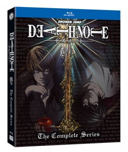 Death Note Complete Series - Blu-Ray - Standard Edition Packshot - 20160225