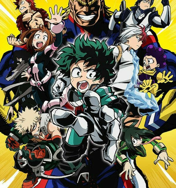 "Funimation Acquires ""My Hero Academia"" Anime Series"
