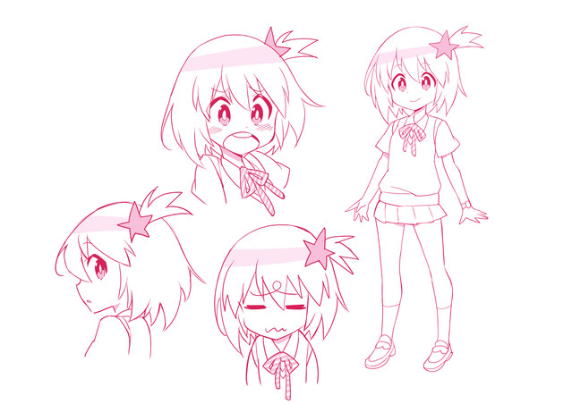 Space Patrol Luluco Character Visual Luluco 001 - 20160207