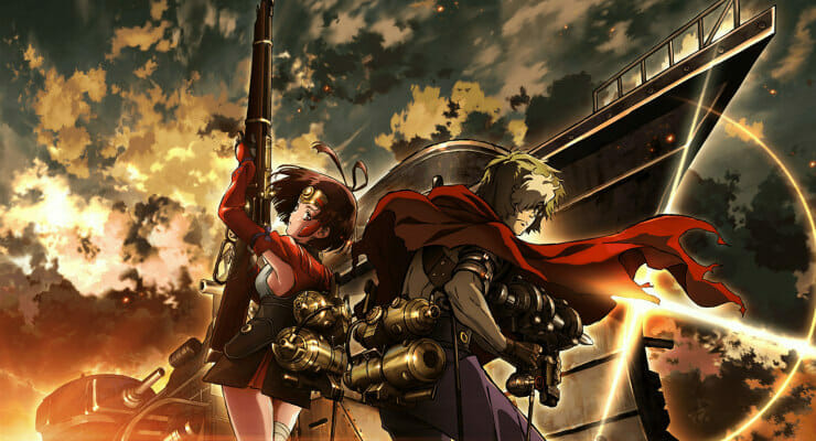 Hit the Rails in New Kabaneri of the Iron Fortress Dub Clip