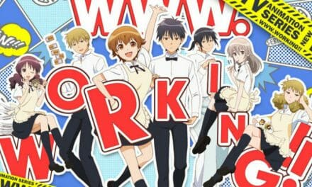 WWW.Working!! Anime Gets New PVs, Visual, Casting Details