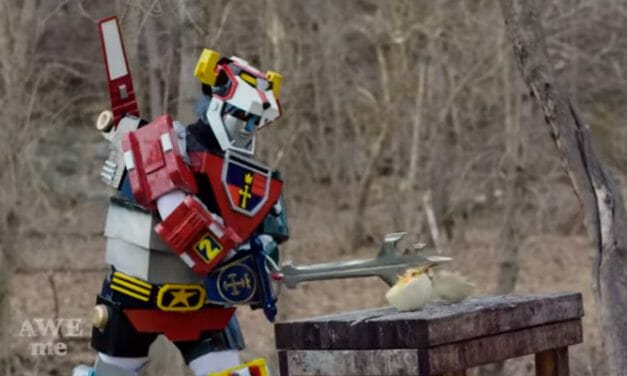 Man At Arms Crafts Voltron's Blazing Sword