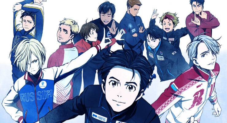 """Yuri!!! on Ice"" Anime Gets New PV & Cast Reveals"