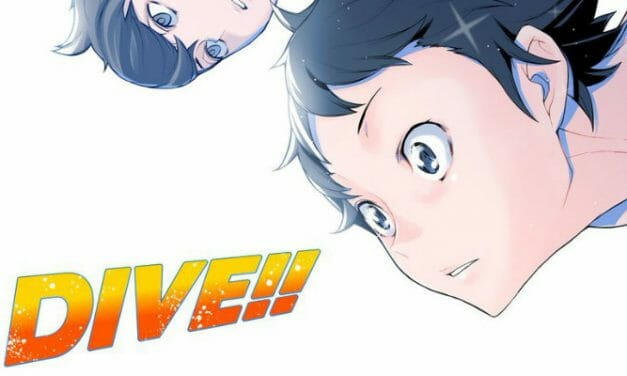 Eto Mori's DIVE!! Gets Anime TV Series On Noitamina In July 2017