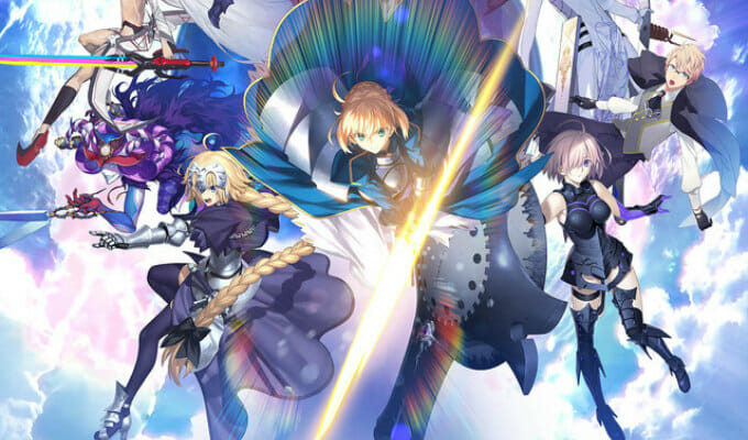 Aniplex of America to Release Fate/Grand Order Smartphone Game in North America in Summer 2017