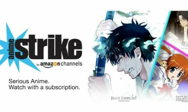 "Amazon Prime Launches ""Anime Strike"" Branded Channel"