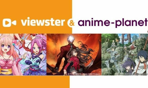 Anime-Planet & Viewster Enter Content Distribution Partnership