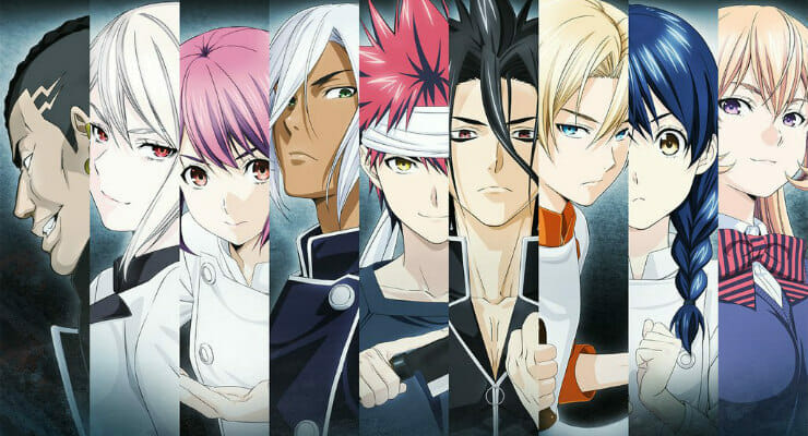 Food Wars! Anime Returns In Fall 2017; First Visual & New Cast Members Revealed