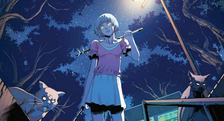 "Manga Entertainment Options ""Wayward"" Comic Series"
