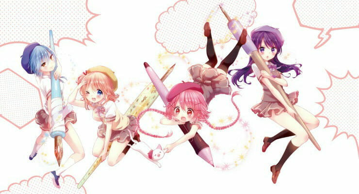 "Main Cast Announced for ""Comic Girls"" Anime"