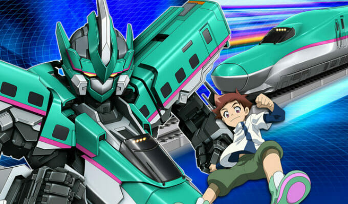 New Trailer, Cast, Premiere Date Unveiled for Shinkalion Anime
