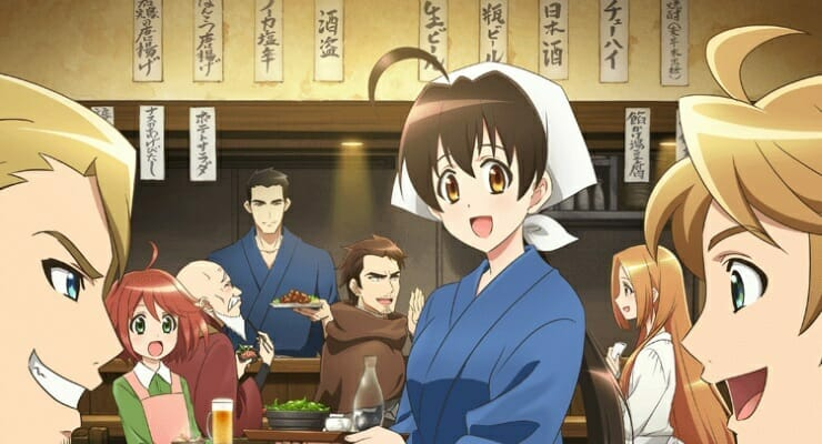"Sunrise Streams ""Isekai Izakaya"" in 196 Countries Worldwide"
