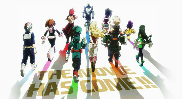 My Hero Academia Two Heroes Gets New Trailer Cast Member Theme Song Anime Herald